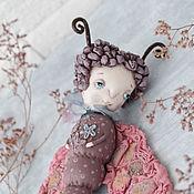 Куклы и игрушки handmade. Livemaster - original item The girl moth. Handmade.