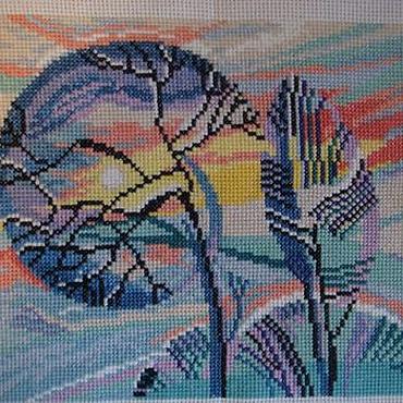 Для дома и интерьера ручной работы. Ярмарка Мастеров - ручная работа Зимушка-зима. Handmade.
