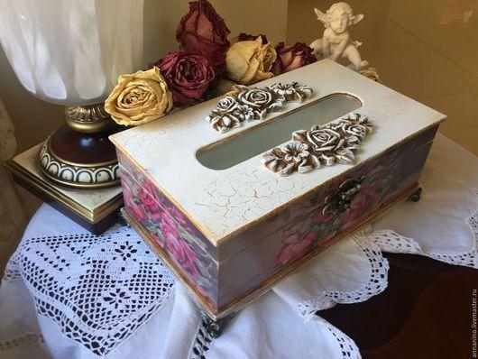 Кухня ручной работы. Ярмарка Мастеров - ручная работа. Купить Салфетница Викторианская роза. Handmade. Салфетка, ручная работа handmade