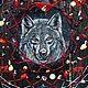 """Ловцы снов ручной работы. Тотемный ловец снов """"Wolf tribe: faithful and intuition"""" РЕЗЕРВ!. Сноведье (Анастасия). Ярмарка Мастеров."""