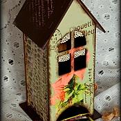 """Для дома и интерьера ручной работы. Ярмарка Мастеров - ручная работа Чайный домик """"Роза"""". Handmade."""