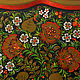 Panel on the wall shaped tray with hand painted Khokhloma. Panels. Art Gallery by Natlya Zhdanova. Online shopping on My Livemaster.  Фото №2