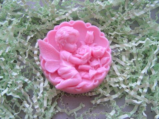 Мыло ручной работы. Ярмарка Мастеров - ручная работа. Купить Ангел с розами. Подарочное мыло. Подарки на любой случай.. Handmade.