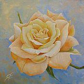 Картины и панно ручной работы. Ярмарка Мастеров - ручная работа Золотистая роза. Handmade.