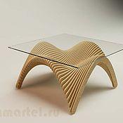 Для дома и интерьера ручной работы. Ярмарка Мастеров - ручная работа параметрический чайный столик. Handmade.