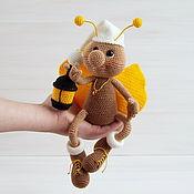 Куклы и игрушки handmade. Livemaster - original item Knitted interior toy Souvenir handmade Firefly Shine. Handmade.