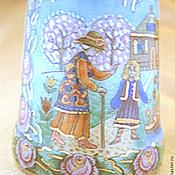 """Куклы и игрушки ручной работы. Ярмарка Мастеров - ручная работа Наперсток фарфоровый """"Снежная королева"""". Handmade."""