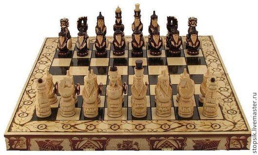 Настольные игры ручной работы. Ярмарка Мастеров - ручная работа. Купить Шахматы, нарды, шашки Дракон-Великан 7125. Handmade.