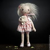 """Материалы для творчества ручной работы. Ярмарка Мастеров - ручная работа Набор для шитья """"Кукла Олечка"""" Модное Хобби. Handmade."""