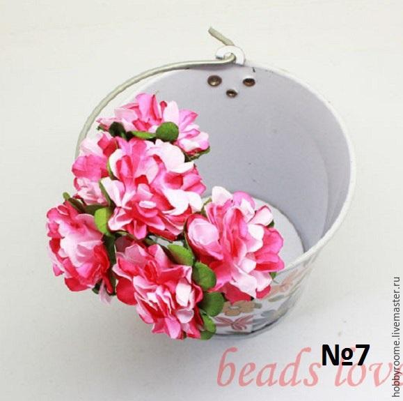 Цветы для скрапбукинга интернет магазин