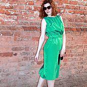 Одежда handmade. Livemaster - original item Elegant dress made of silk. Handmade.