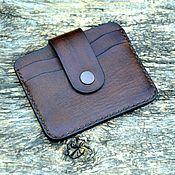 Сумки и аксессуары handmade. Livemaster - original item Leather cardholder №2. Handmade.