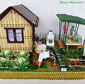 Подарки к праздникам ручной работы. Ярмарка Мастеров - ручная работа Мои 6 соток. Букет конфет.. Handmade.