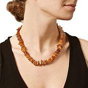Украшения handmade. Livemaster - original item The amber healing beads raw natural stone. Handmade.