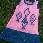 Работы для детей, ручной работы. Ярмарка Мастеров - ручная работа Сарафан и сумочка. Handmade.