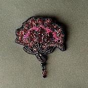 Украшения handmade. Livemaster - original item Vintage Peony brooch. Handmade.