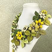 Украшения handmade. Livemaster - original item Intoxicating Narcissus. Necklace made of natural stones, the colors of the skin. Handmade.