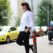 Одежда ручной работы. Ярмарка Мастеров - ручная работа Рубашка Love In White. Handmade.