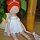 Куклы тыквоголовки ручной работы. Ярмарка Мастеров - ручная работа. Купить Балеринка. Handmade. Белый, тыквоголовая кукла, белое платье