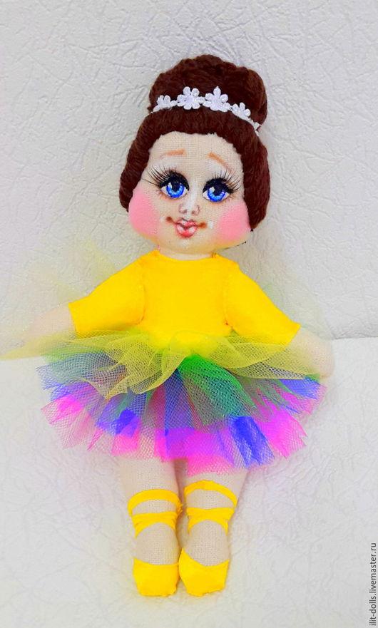 """Человечки ручной работы. Ярмарка Мастеров - ручная работа. Купить Балерина """" Конфетти"""". Handmade. Комбинированный, текстильная кукла"""