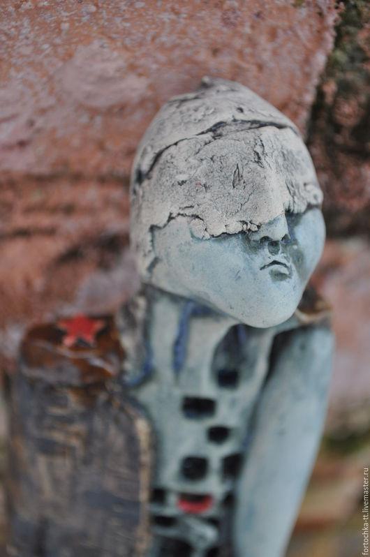 Элементы интерьера ручной работы. Ярмарка Мастеров - ручная работа. Купить Солдатик. Handmade. Зеленый, интерьерная кукла, сюрприз
