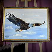 Картины ручной работы. Ярмарка Мастеров - ручная работа Парящий орел. Handmade.