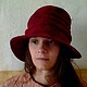 "Шляпы ручной работы. шляпа ""Испания"". Инна Барденкова (innabardenkova). Ярмарка Мастеров. Мокрое валяние, шапка"
