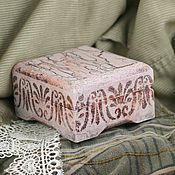 Для дома и интерьера ручной работы. Ярмарка Мастеров - ручная работа шкатулка Розовые сны. Handmade.