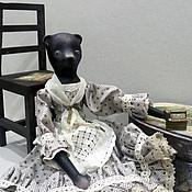 Куклы и игрушки ручной работы. Ярмарка Мастеров - ручная работа Мишка Тереза. Handmade.