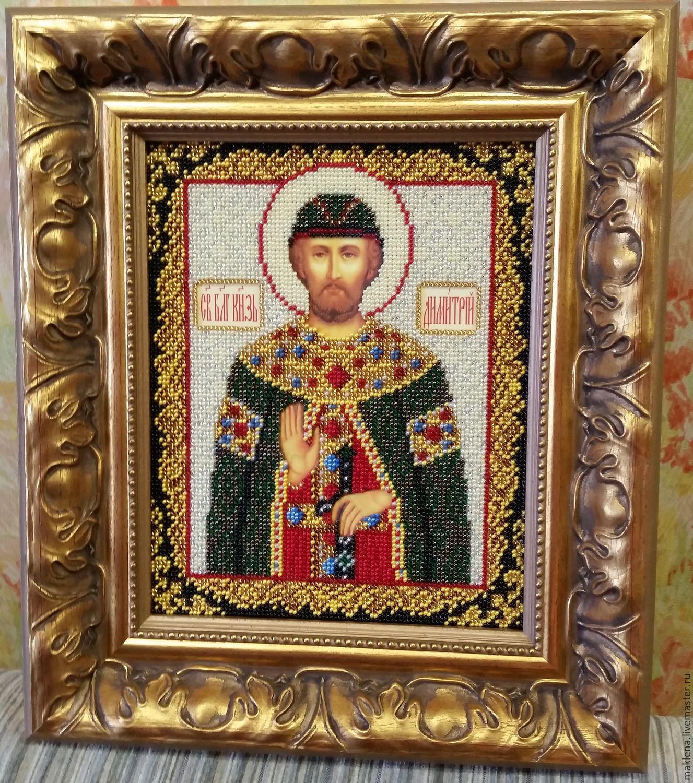 Вышивка святой дмитрий