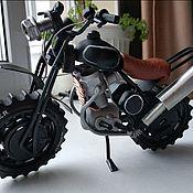 Модели ручной работы. Ярмарка Мастеров - ручная работа Модель мотоцикла ручной работы. Handmade.