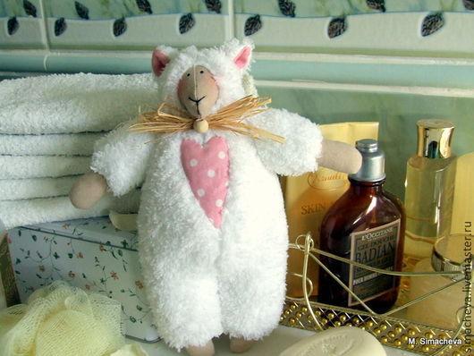 Куклы Тильды ручной работы. Ярмарка Мастеров - ручная работа. Купить Овечка Кудряшка. Handmade. Белый, овечка игрушка