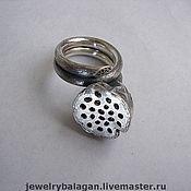"Rings handmade. Livemaster - original item Кольцо ""Семена Лотоса"". Handmade."
