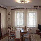 Для дома и интерьера handmade. Livemaster - original item Curtains in contemporary style. Handmade.