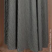 Одежда ручной работы. Ярмарка Мастеров - ручная работа Юбка полусолнце серебро. Handmade.