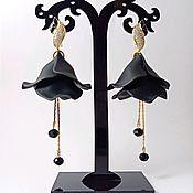 Украшения handmade. Livemaster - original item Striped sea earrings. Handmade.