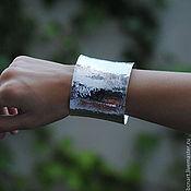Украшения handmade. Livemaster - original item Silver cuff. Handmade.