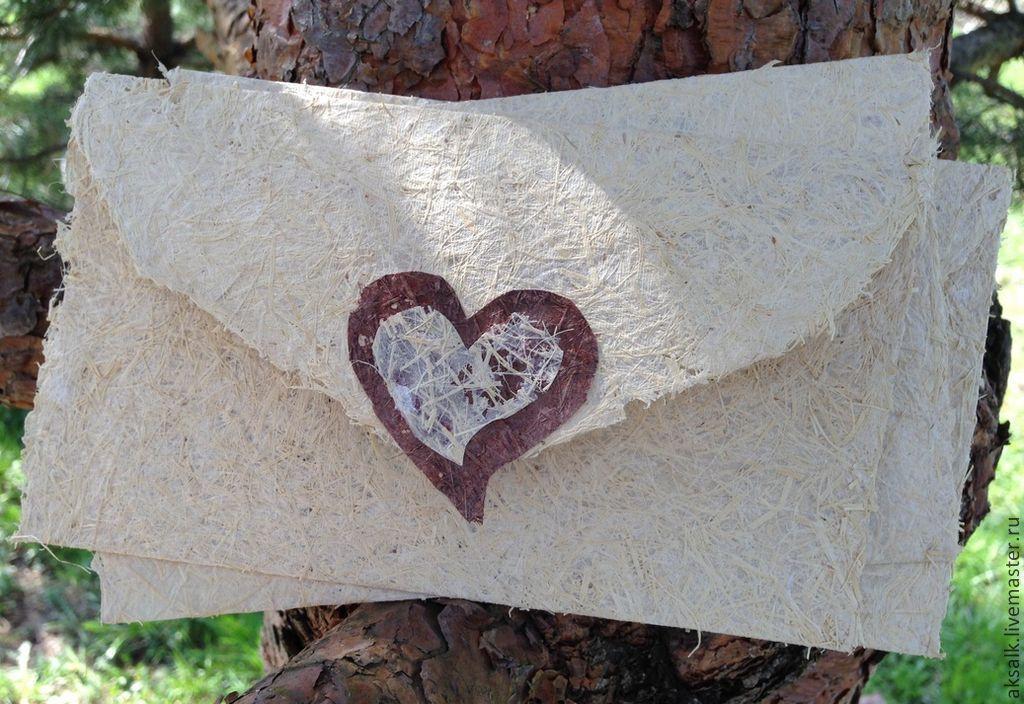 'CHOCOlove' a set of handmade envelopes, Line, Moscow,  Фото №1