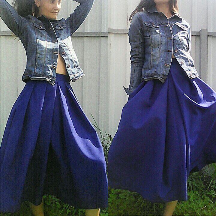 Какая ткань для юбки не мнется