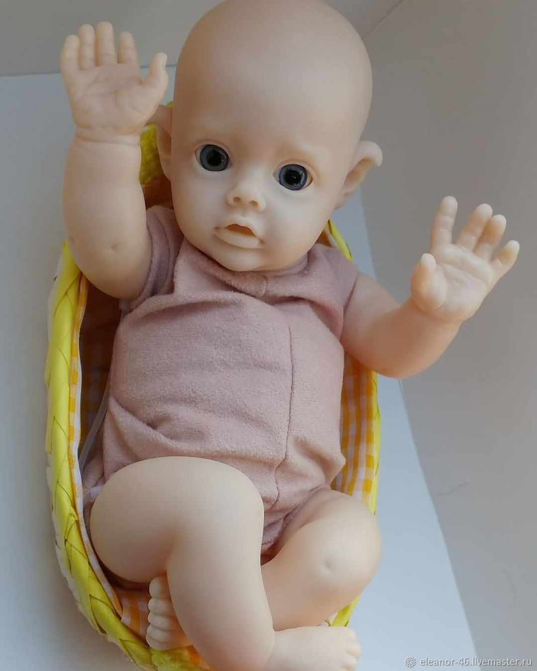 "Mini baby ELF""Flo""  скульптор Natali Blick – купить на Ярмарке Мастеров – J829SRU | Куклы Reborn, Курск"