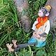Куклы и игрушки ручной работы. игрушка обезьянка ГУГУ. АРБАТ-СТУДИЯ Екатерина (игрушки). Ярмарка Мастеров. Обезьянка, подарок женщине