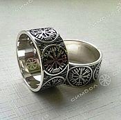 Фен-шуй и эзотерика handmade. Livemaster - original item VEGVISIR ring. Handmade.