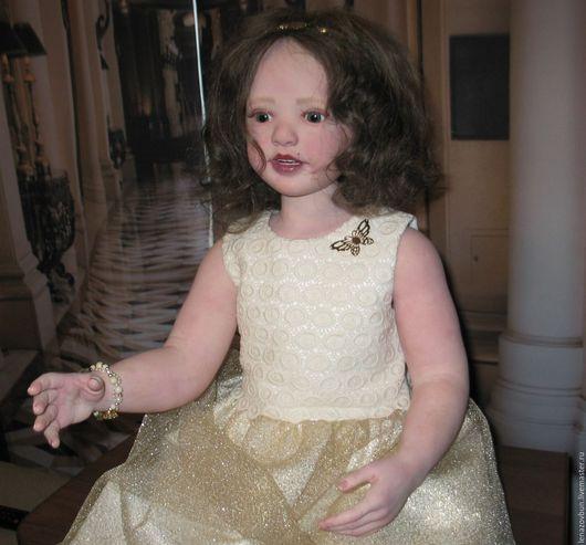 Куклы-младенцы и reborn ручной работы. Ярмарка Мастеров - ручная работа. Купить Valencia. Handmade. Желтый, девочка, подарок