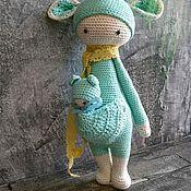 Мягкие игрушки ручной работы. Ярмарка Мастеров - ручная работа Вязаная игрушка. Handmade.