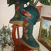 Обувь ручной работы. Ярмарка Мастеров - ручная работа Валенки женские. Handmade.