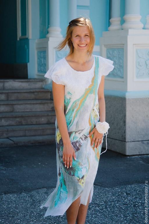 """Платья ручной работы. Ярмарка Мастеров - ручная работа. Купить Платьe""""Нежное""""... Handmade. Одежда для женщин, авторская работа, модные платья"""