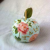 Для дома и интерьера ручной работы. Ярмарка Мастеров - ручная работа Голубое яблочко.. Handmade.