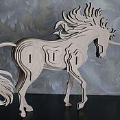 Куклы и игрушки handmade. Livemaster - original item Puzzle Unicorn. Handmade.