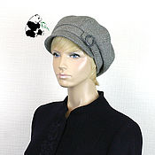 Аксессуары handmade. Livemaster - original item Stylish women`s cap octyklinka. Several colors. # №3. Handmade.