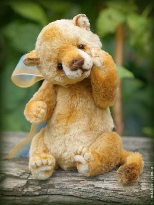 Мишки Тедди ручной работы. Ярмарка Мастеров - ручная работа. Купить Лёвчик. Handmade. Мишки тедди, друзья тедди